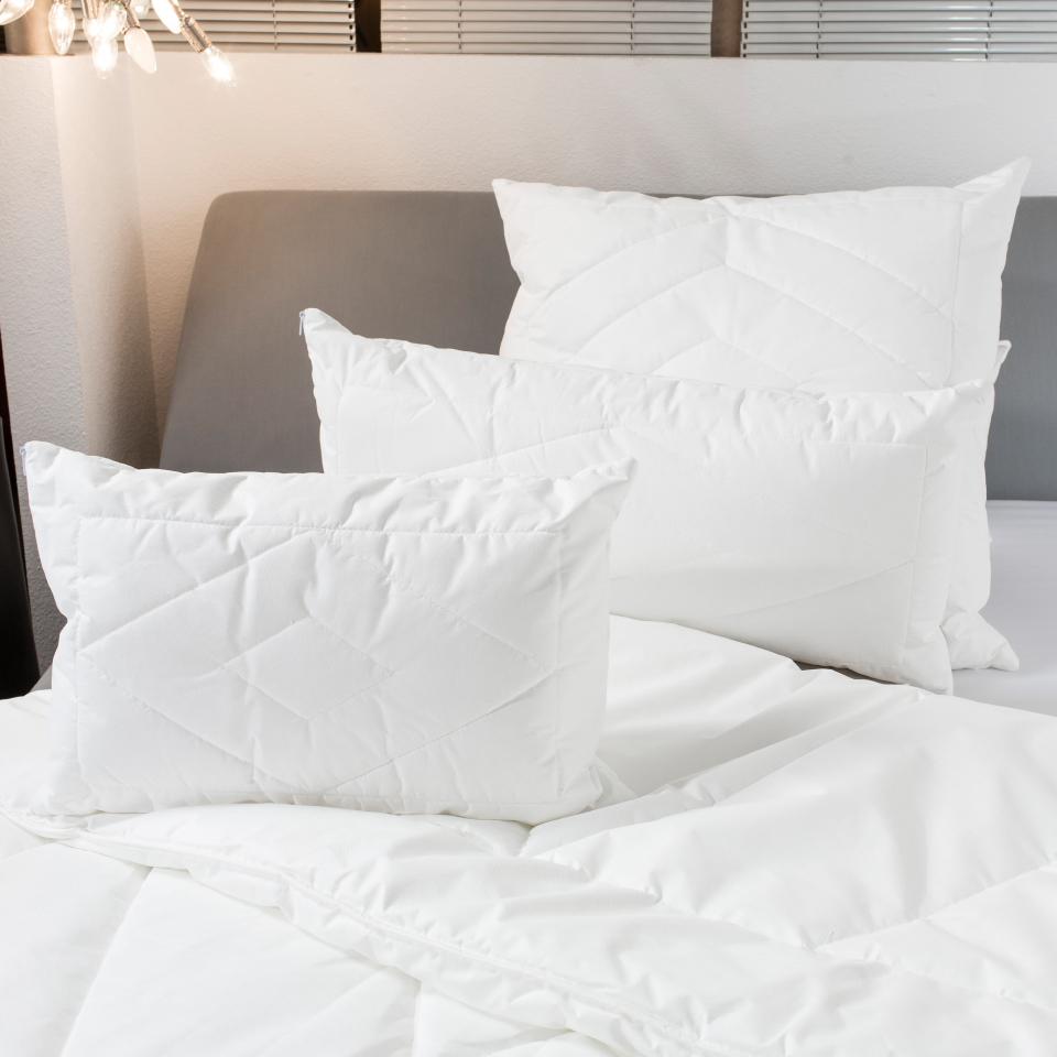 Kissen und Bettdecken für Allergiker